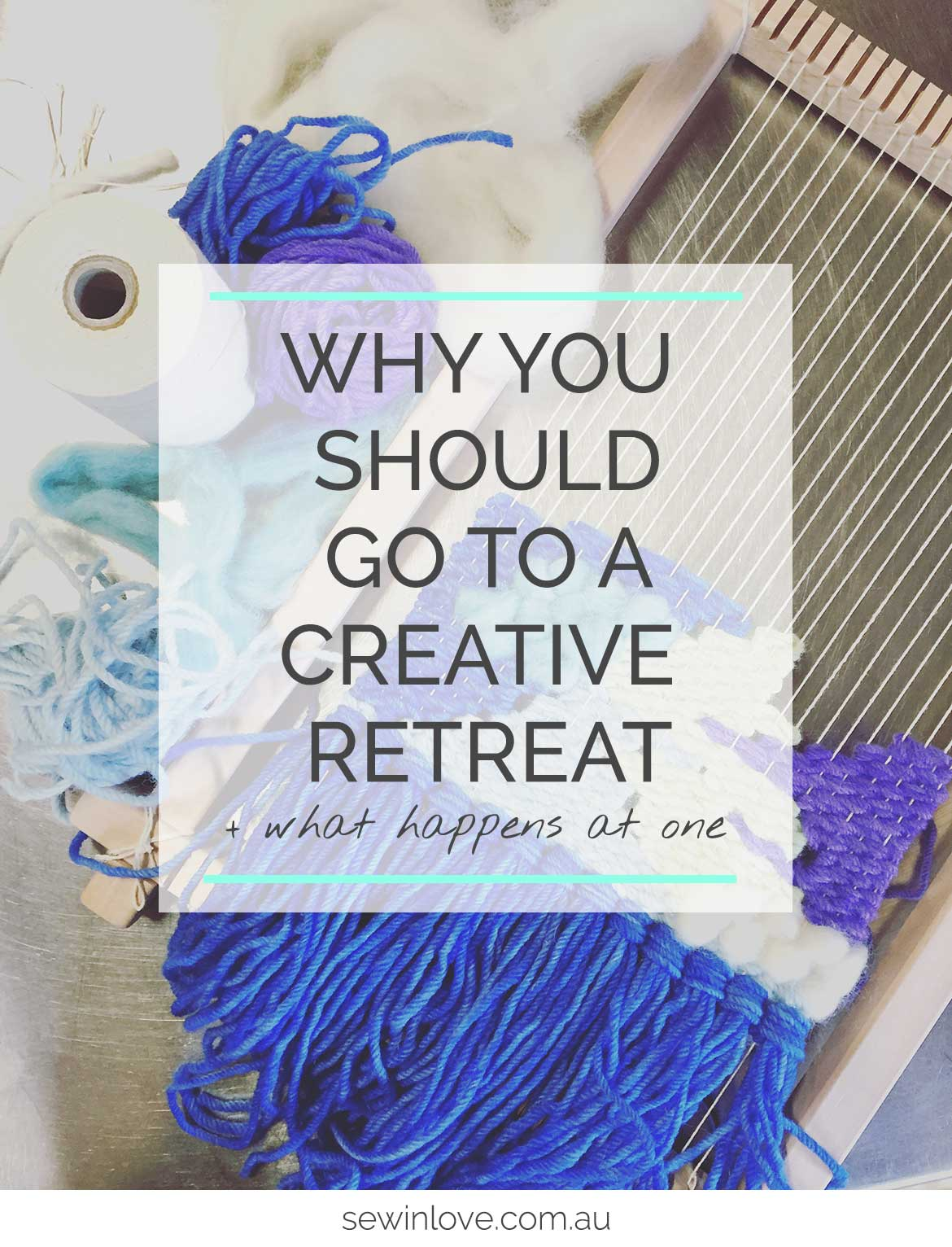 Creative Retreat Ideas - I went to a creative retreat and it completely energised me. Read on to find out all the activities and why you should go to a creative retreat too!