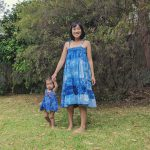 Shibori Tie Dye Mother Daughter Dress Patterns
