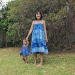Shibori Tie Dye Mother Daughter Dress Patterns