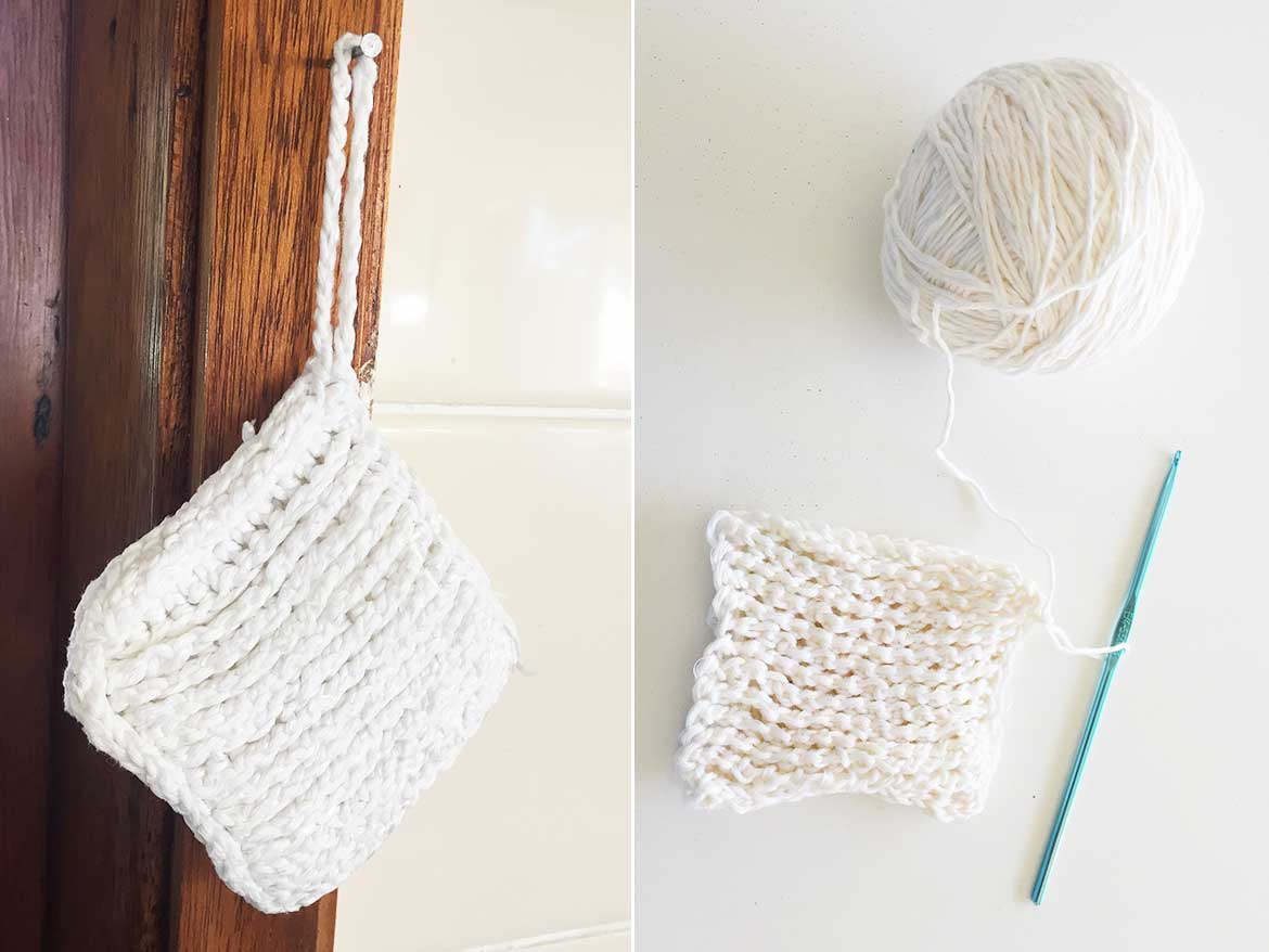 I've tried many dishcloth crochet patterns and this one is by far the best. It's robust and textured enough to replace your disposable sponge, plus, it's quick to make!