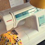 Simple Joys: Blue skies and finally sewing again!
