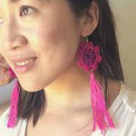 How Crochet  + Tassels = DIY Boho Earrings