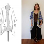 Kimono Jacket Pattern + 3 Kimono Outfit Ideas