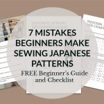 7 Mistakes Beginners Make when Trying Japanese Sewing Patterns