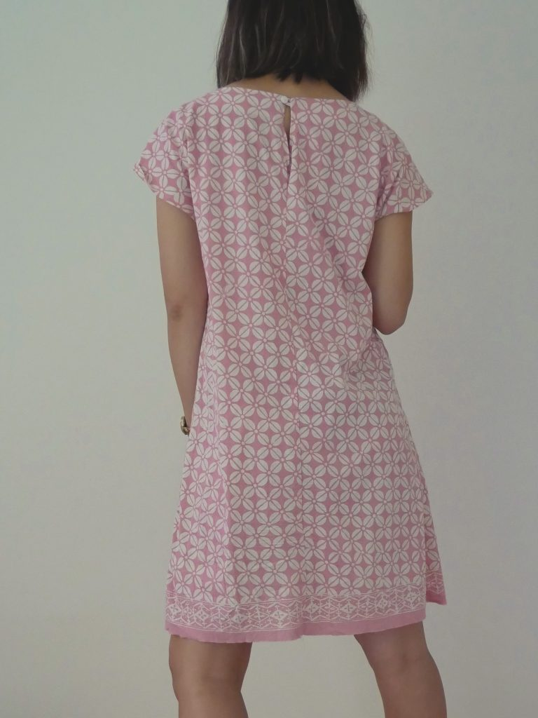 One of my fave Japanese Dress Patterns - Yoshiko Tsukiori Sweet Dress Book. Take a look at more photos of this dress and other patterns I have made from this Japanese sewing pattern book: https://www.sewinlove.com.au/