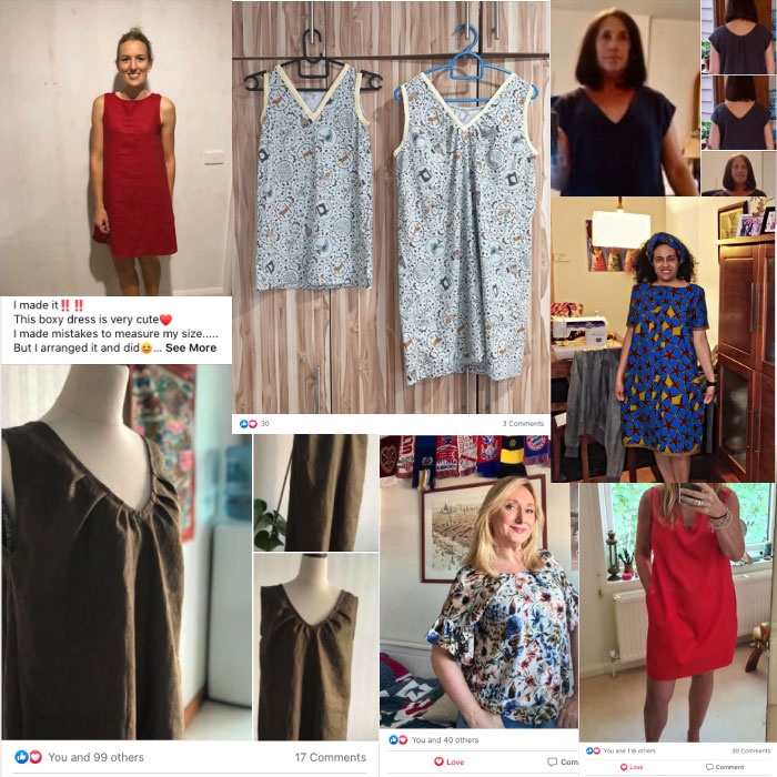 Free Sewing Pattern Little Boxy Dress Workshop | Join 3000+ women who have made this dress without a sewing pattern! Join the free workshop here: https://sewinlove-school-fd8b.thinkific.com/courses/boxydress